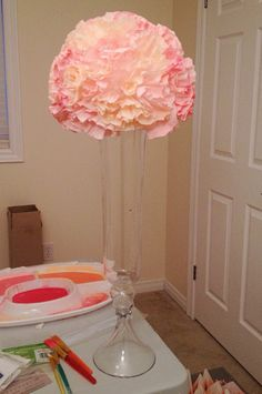 Pomander Need Help :  wedding diy pink reception Centerpiece Copy