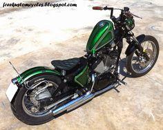 ϟ Hell Kustom ϟ: Yamaha XV250 By Free Kustom Cycles