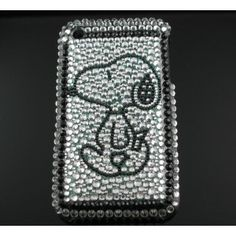 Snoopy Bling Hard Cover Case for iPhone 3G/3Gs (Type 1)