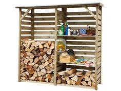 Houtopslag Twin   tuinhaardenwinkel.nl Deze houtopslag is praktisch verdeeld in 2 ruime vakken, het wordt standaard geleverd met losse 2 planken waardoor u eenvoudig schappen kunt creëren.