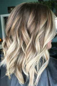 26 super ideas for hair color balayage blonde caramel hairstyles Ombre Hair, Hair Blond, Brown Hair, Baylage Ombre, Blonde Bayalage Hair, Advantages Of Watermelon, Kinds Of Salad, Lob, Hair Color