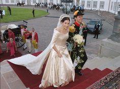 15 vestidos de noiva da realeza | Princesas reais - Princesa Mary – Dinamarca