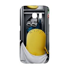 Locker Room Despicable Me Minion Samsung Galaxy S6 EDGE or S3/S4/S5/S6/S7/S7 EDGE/NOTE 2/NOTE 3/NOTE 4/NOTE 5 Case Wrap Around