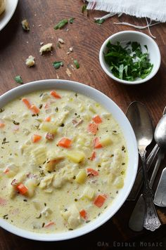 New England Style Fish Chowder Recipe