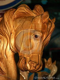 Photo about Wooden Carousel Horse, Santa Monica Carousel, Santa Monica CA. Image of varnished, knot, carousel - 20341790 All The Pretty Horses, Beautiful Horses, Carosel Horse, Sculptures, Lion Sculpture, Wooden Horse, Painted Pony, Funny Animal Quotes, Merry Go Round