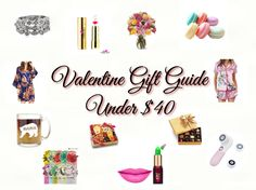 Does your significant other struggle with getting you the perfect gift? Help them out by sending them a link to one of these cute, personal, romantic and budget-friendly gifts.  Check out these under $40 gifts that can be delivered to your home just in time for Valentine's Day! 1:  Sterling Silver Diamond Accent Stackable Rings …
