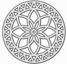 I think I'm in love with this shape from the Silhouette Design Store! Stencils, Inkscape Tutorials, Laser Cutter Projects, Doodle Inspiration, Mandala Drawing, 3d Prints, Scroll Saw Patterns, Laser Cut Wood, Mandala Design