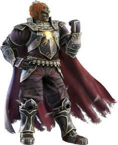Ganondorf as he appears in Super Smash Bros. for Nintendo 3DS / Wii U.