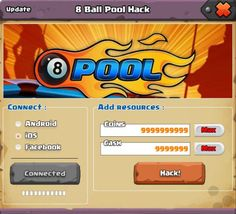 8 Ball Pool Hack Generator 2020 – Free Coins – Cash – Cheats, Get unlimited instant 8 ball pool free coins and 8 ball pool free cash with the help of our online 8 Ball Pool Hack Tool 2020 for Android and iOS devices. Miniclip Pool, Swimming Pools, Mini Pool, 8 Pool Coins, Puerto Rico, Real Hack, Money Generator, Pool Hacks, Pool Images