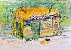 布瑞克麵包店。