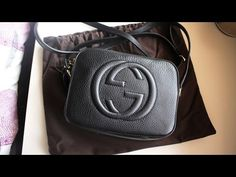 b45e8bfb938 Handbag Unboxing  Gucci Soho Disco Bag - YouTube
