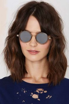 Komono Vivien Round Shades - Eyewear | Accessories