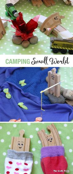 Camping Small World for Imaginative Play