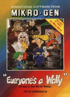 Everyone's A Wally on the Commodore 64