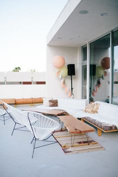 It's all about that outdoor space