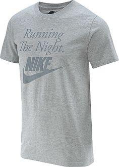NIKE Men's Running The Night Short-Sleeve T-Shirt