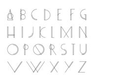 Bamq Typeface - Free download by Gulay Inceoglu, via Behance