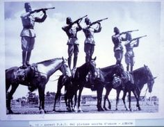 Somali colonial soldiers in Somaliland