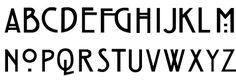 Bildergebnis für art nouveau fonts