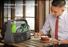 TRIANGLE COMMUTER BAG by abrAsus