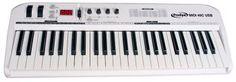 Prodipe Keyboard 49C es un teclado MIDI compacto de 49 teclas, perfecto para uso en aplicaciones de directo y Home Studio. Keyboard 49 además incluye 3 programas de regalo : Prodipe SE, Piano Passion y Pro Record 64.