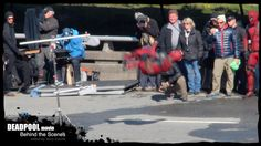 DEADPOOL MOVIE Behind the Scenes: Deadpool's Sick Move Gets Props!