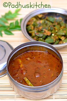 Kothavarangai Kara Kulambu-Cluster Beans Puli Kuzhambu Recipe