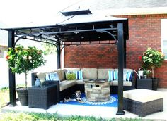 Hometalk :: Patio Extension and Makeover
