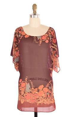 Free People Purple Lace Back Tunic Size S | ClosetDash #fashion #style #tops #blouse