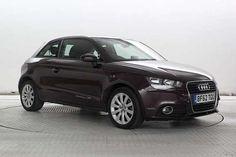 Used 2012 (62 reg) Met Purple Audi A1 1.6 TDI Sport 3dr for sale on RAC Cars
