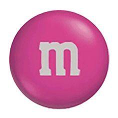 M&M's Milk Chocolate Candy - Dark Pink