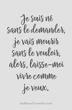 ideas for wallpaper quotes inspirational motivation Positive Attitude, Positive Quotes, Silence Quotes, French Quotes, Some Words, Positive Affirmations, Wallpaper Quotes, Sentences, Slogan