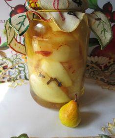 Gruszki w zalewie cytrynowej do słoików na zimę - Owocowe