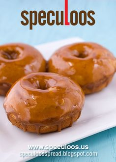 Speculoos Doughnuts  http://speculoosspread.blogspot.co.uk/2014/08/speculoos-doughnuts.html