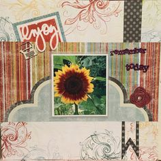 Page Inspiration with Gabriela Hi everyone, Gabriela here today with a layout using Whistlin' Dixie papers. This layout is for any special moment you enjoyed and would like to remember.