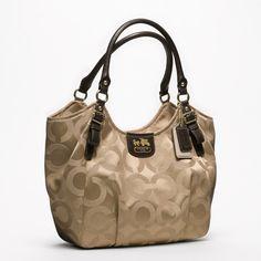coach bags | Coach madison op art sateen abigail shoulder bag 2 580x580