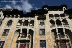 Office building during the years by architect Arghir Culina. Gastro Pubs, French Architecture, Bucharest, Daily Photo, Romania, Mansions, House Styles, Building, Manor Houses