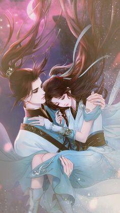 Couple Manga, Anime Couples Manga, Anime Love Couple, Cute Anime Couples, Anime Art Girl, Manga Art, Illustrations, Illustration Art, Drawings Of Love Couples