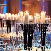 DIY Wedding - Crystal and Bling Centerpieces Ideas.... - KBENEDICT's Pink Wedding by Color Blog
