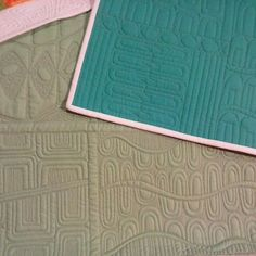 A few examples of what I will be teaching in my Modern Simplicity class at #quiltcon .  There are still spots available ...