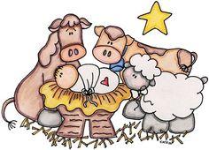 Baú de Figuras: Imagens do nascimento do menino Jesus e presépio de Natal
