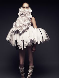 Impressive Paper Art Clothes Collection Designer Bea Szenfeld
