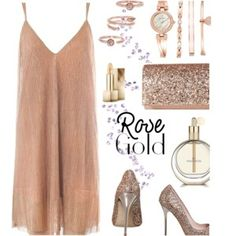 Rose Gold outfit!