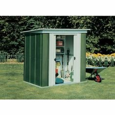 Metal Pent Shed - 6x4ft from Homebase.co.uk