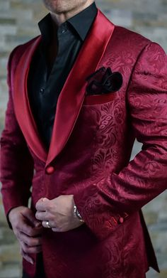 Because the red was not enough. Available in burgundy now! Get it before its sold out. #MensFashionSuits #MensFashionParty