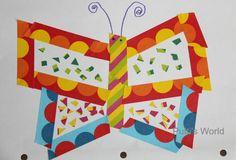 Easy Kids Craft Tape Art Collage