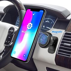 Car Dashboard Magnetic Mount Holder Stick On Universal Cell Phone Accessories #WizGear