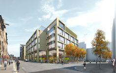 New Freer Street Masterplan, Edinburgh
