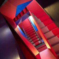 Donmar Dryden Street staircase by Haworth Tompkins
