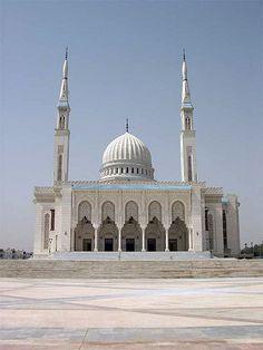 Emir Abdelkader Mosque in Constantine, Algeria built in 1994